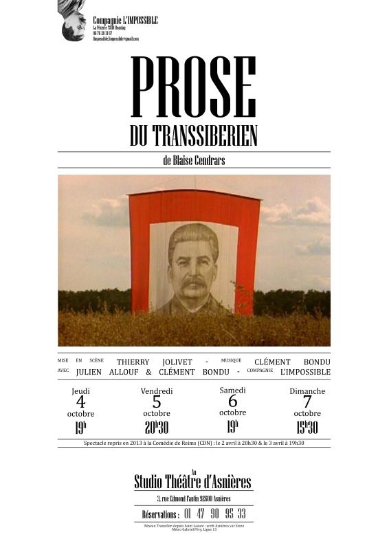Prose du transsiberien maquette 1